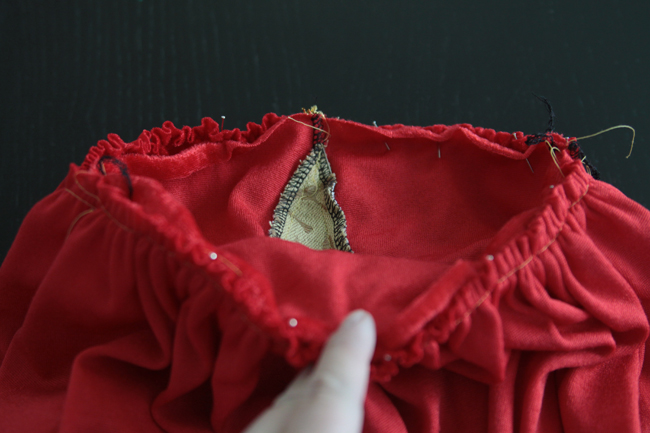 how to sew a princess costume