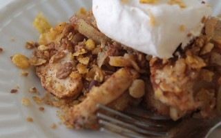 guiltless Honey Bunches apple crisp recipe