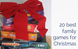 20 best family games to get for Christmas