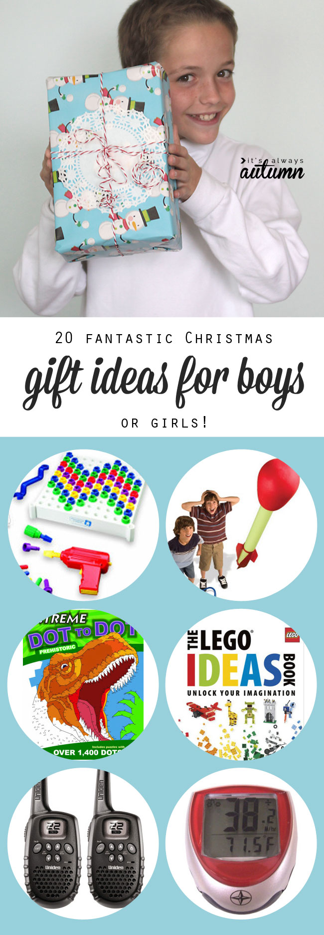 20 Best Christmas Gift Ideas For Boys It 39 S Always Autumn