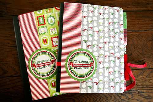 christmas planner books with free printables