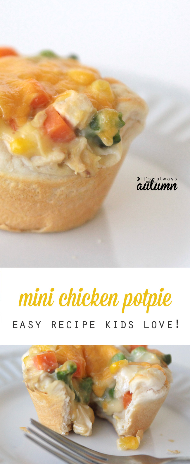 Campbell Kitchen Recipe Mini Chicken Pot Pies Other Kid Friendly Recipes From Campbells