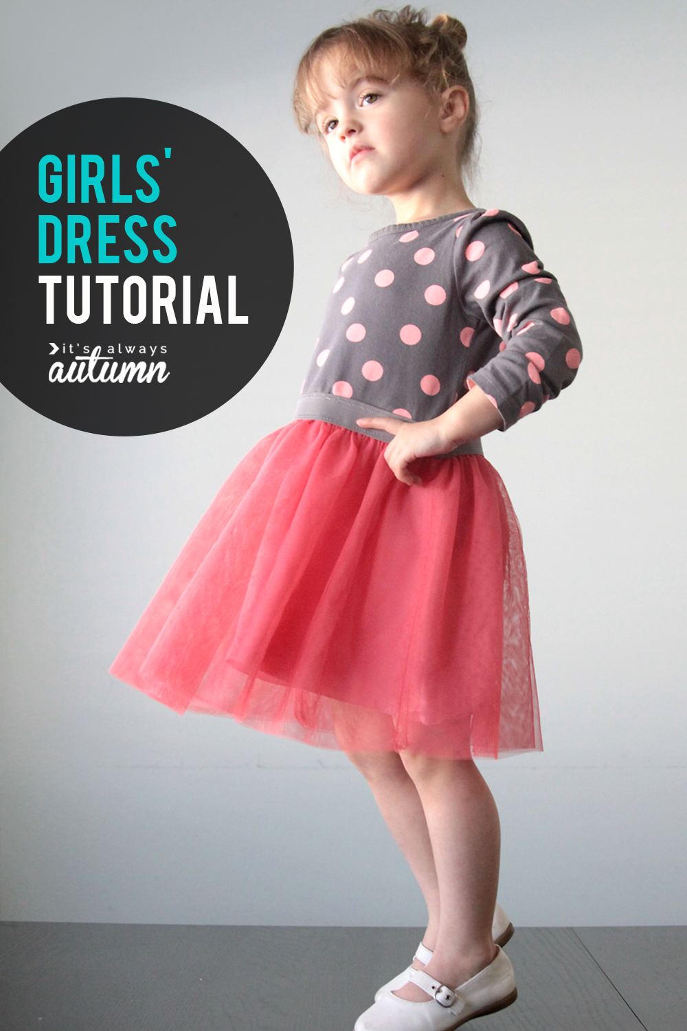3fcad4412 the ballet dress {a simple girls sewing tutorial} - It's Always Autumn
