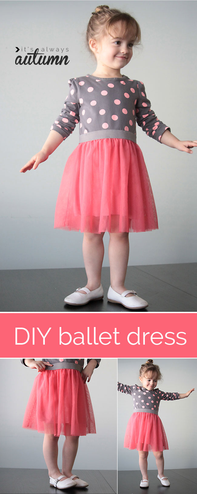 68cc3209a15 the ballet dress  a simple girls sewing tutorial  - It s Always Autumn