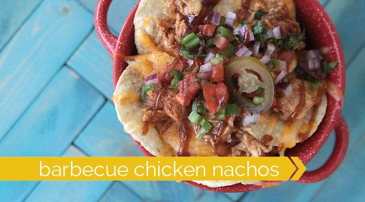best ever barbecue chicken nachos
