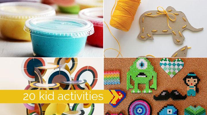 20 Best Indoor Kid Crafts And Activities