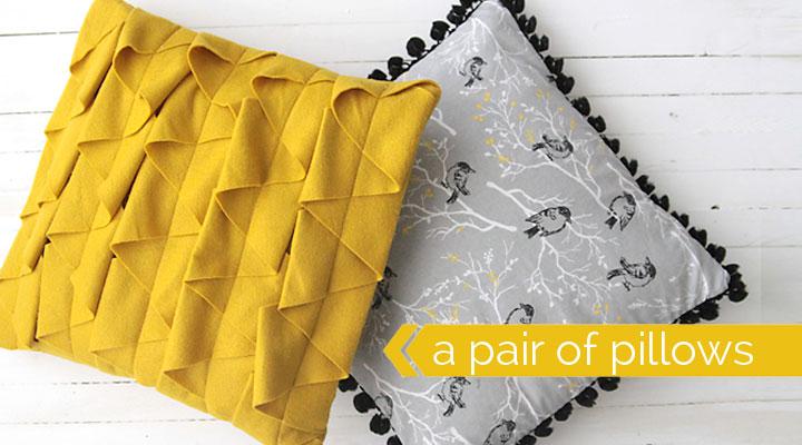 how to make your own modern throw pillows & DIY decorative throw pillows sewing tutorial - It\u0027s Always Autumn pillowsntoast.com