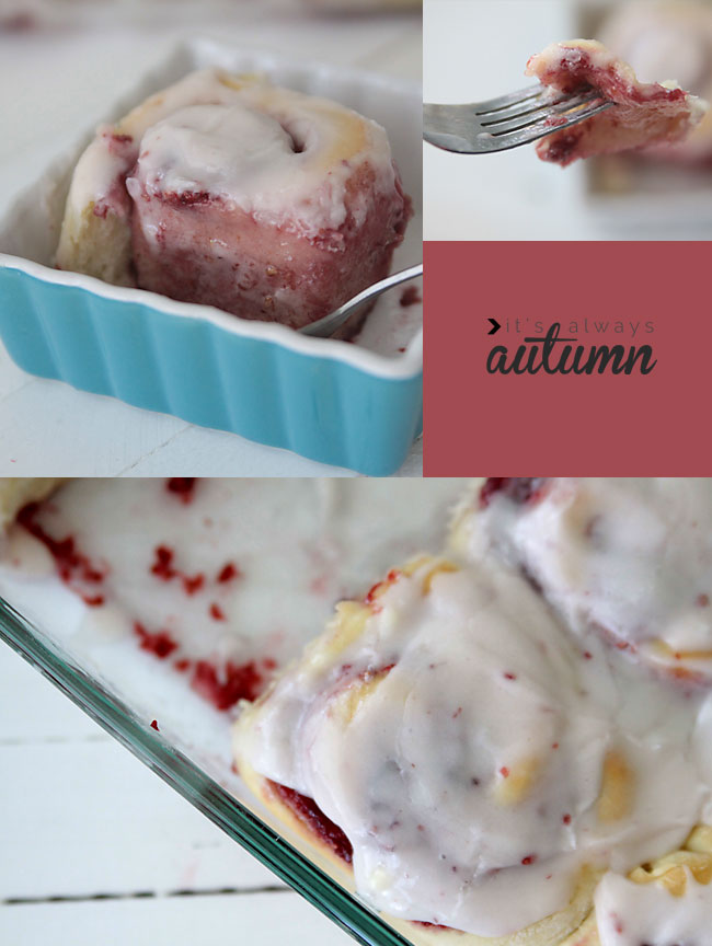 unbelievably good bakery style raspberry rolls recipe