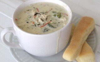 creamy chicken and wild rice a roni soup recipe
