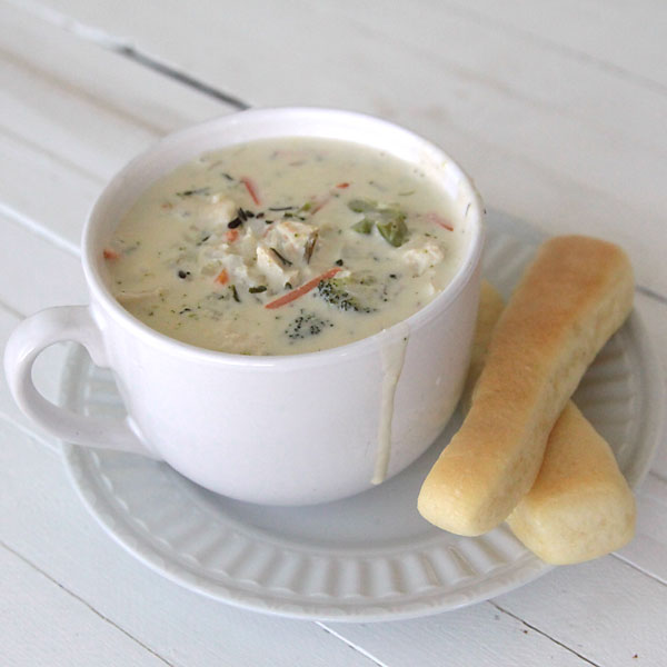 creamy chicken and wild rice a roni soup recipe