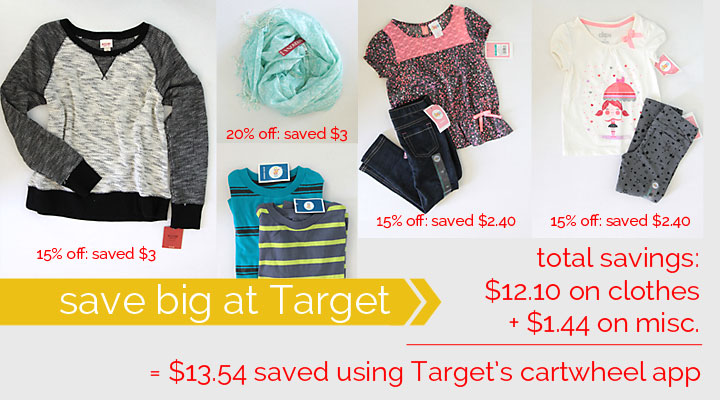 save money at Target + a chance to win $1000!