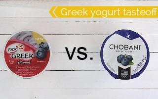 the great greek yogurt taste-off {yoplait vs chobani}