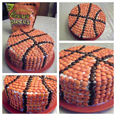 How To Decorate A Cake To Look Like A Basketball