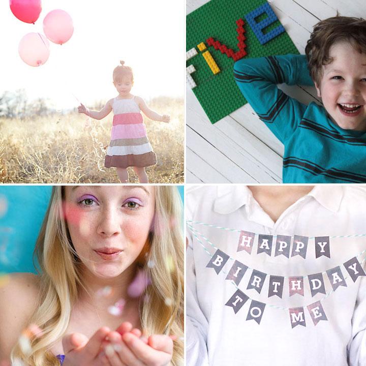 fun DIY mini photo shoot ideas for fantastic birthday photos