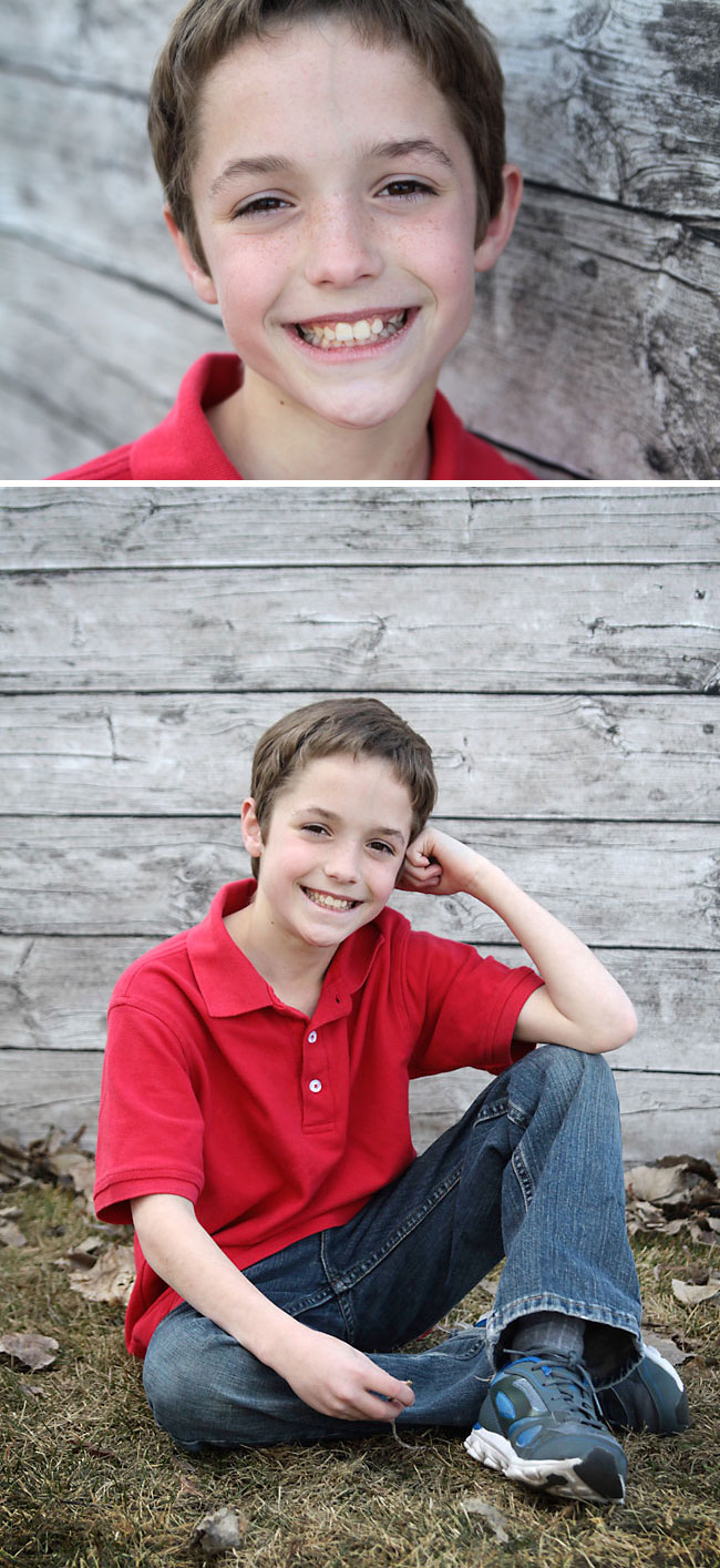 cool easy DIY barn wood backdrop for photos - it's fabric!