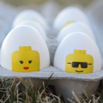 totally awesome DIY LEGO Easter eggs