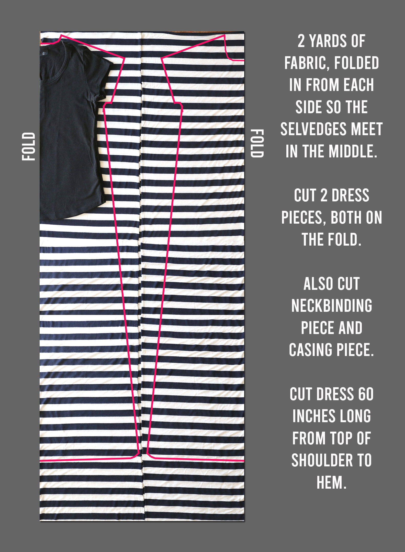 How to make a super easy maxi dress