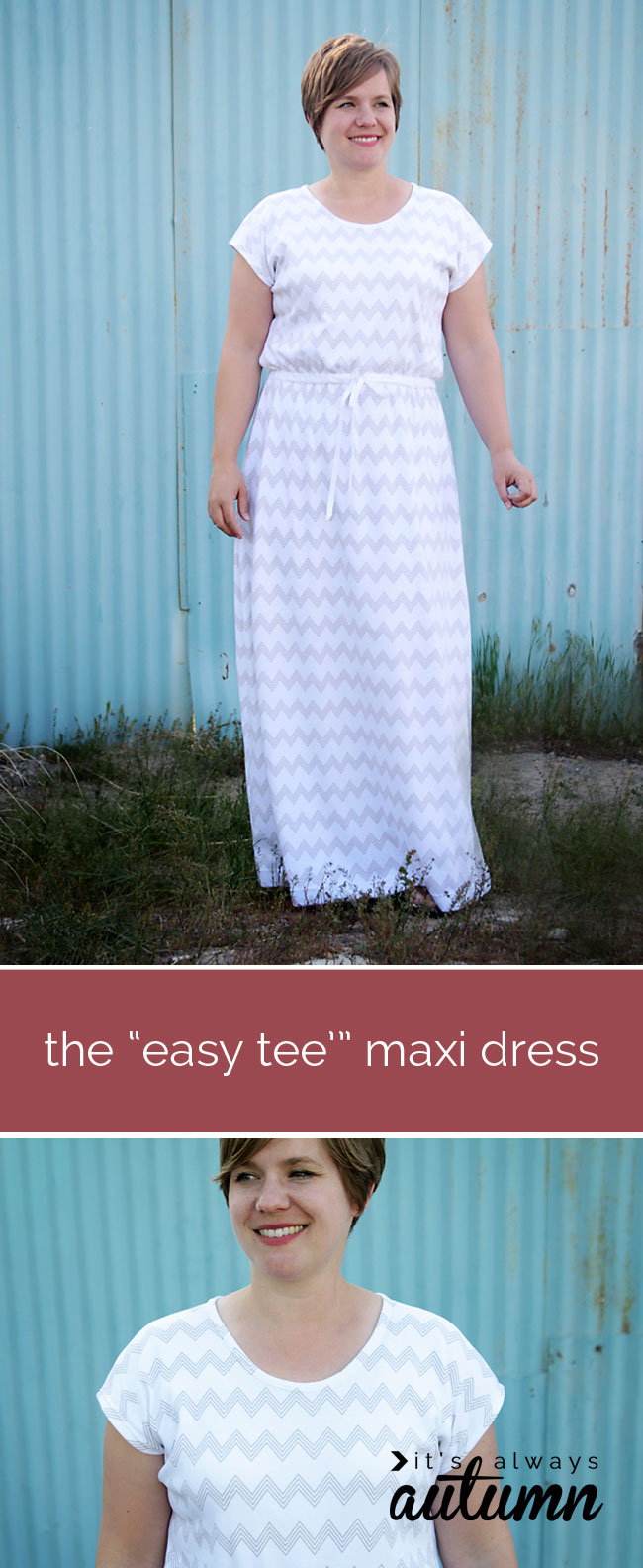 How to sew a maxi dress easy instructions to make a maxi dress how to sew a comfy maxi dress without a pattern jeuxipadfo Image collections
