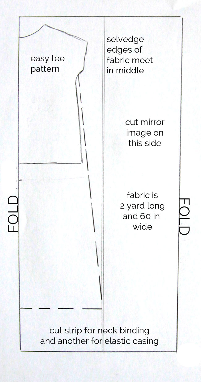 how to sew a maxi dress  easy instructions to make a maxi dress