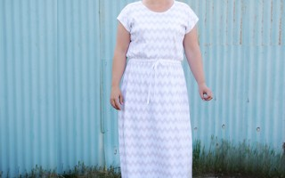 """the """"easy tee"""" maxi dress 
