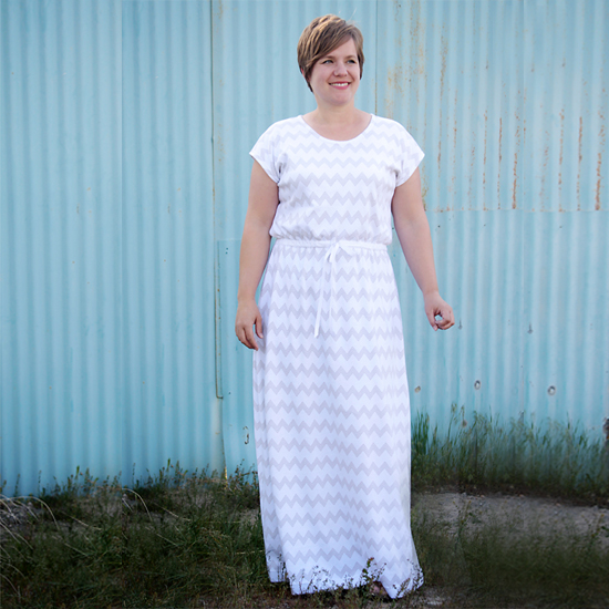 "the ""easy tee"" maxi dress 