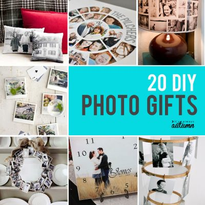 20 fantastic DIY photo gifts {perfect for mother's day}