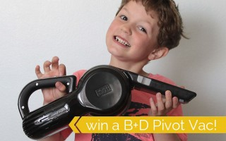 The Best Handheld Vac review & giveaway