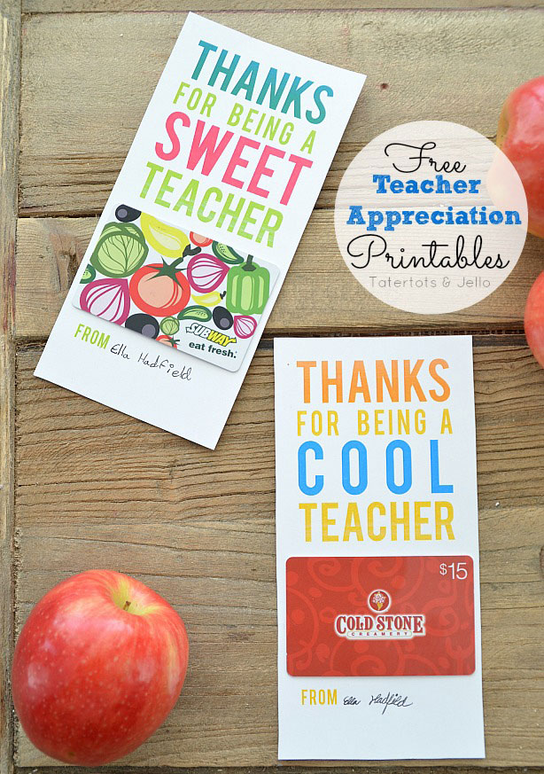 photograph about Hands Down You Re the Best Teacher Around Free Printable named 20 economical, straightforward, + adorable instructor appreciation items - Its