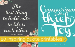 free-quote-printables-inspiring-favorite-quotes-pretty-decor-framed