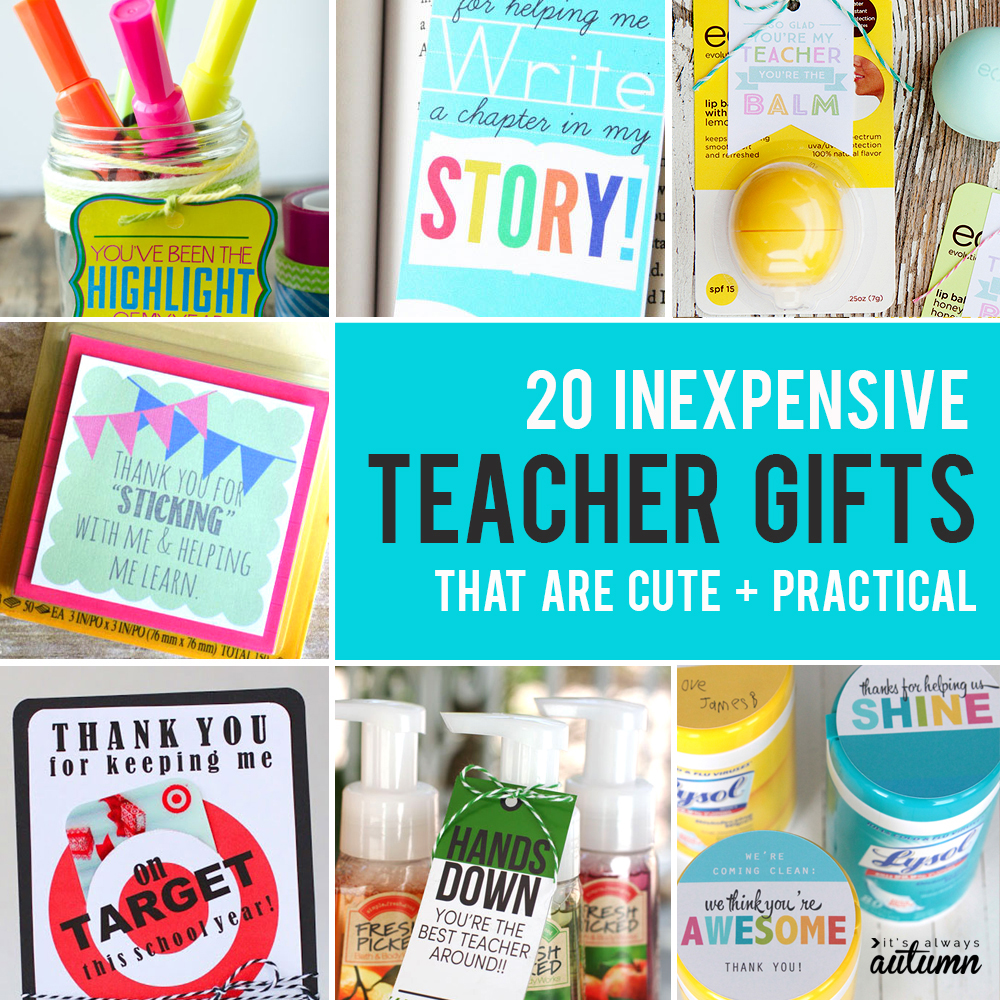 image about Extra Gum Teacher Appreciation Printable identify 20 affordable, straightforward, + lovely trainer appreciation presents - Its
