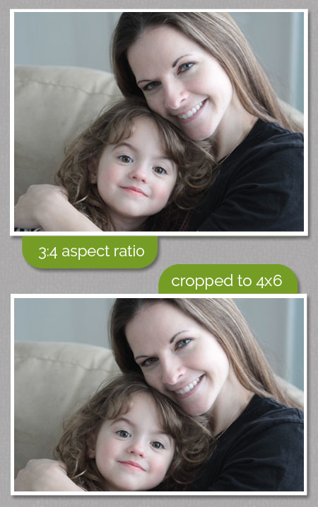 learn what aspect ratio means and how to make sure your photo doesn't get cut off weird when cropped