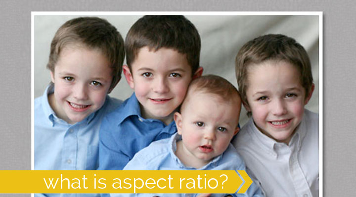 understanding aspect ratio for better photos