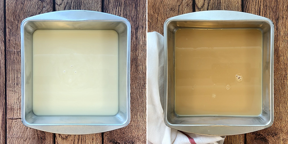 Learn how to make sweetened condensed milk caramel without blowing up your kitchen!