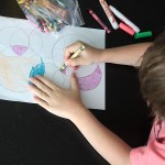 easy circle drawings – fun for kids to color!