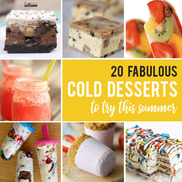 20 cold desserts to try