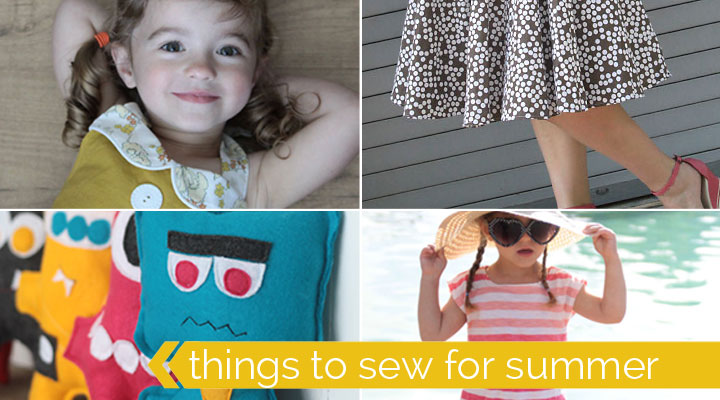 100 summer crafts, projects, recipes & things to sew!