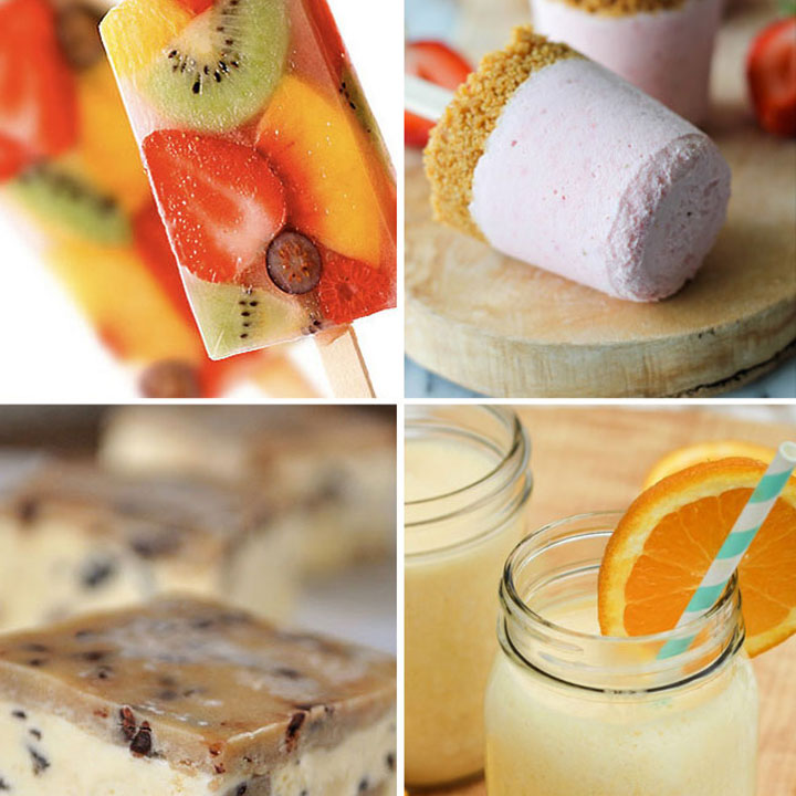 20 easy cold treats to try this summer | frozen desserts