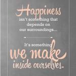 Corrie Ten Boom quote printable | happiness is not…