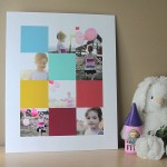 how to create a storyboard photo display in Photoshop Elements & mount on foam board
