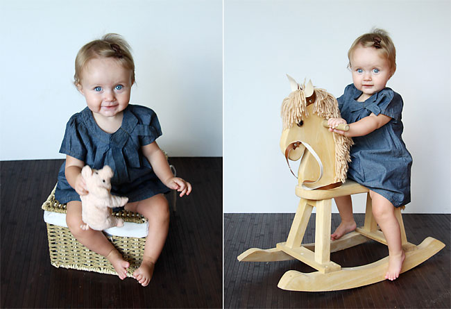 learn how to take great photos of your baby - at home DIY photoshoot