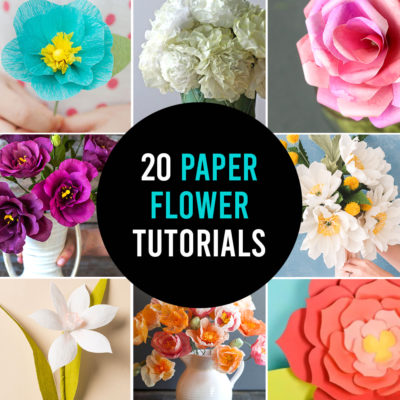 How to make GORGEOUS paper flowers