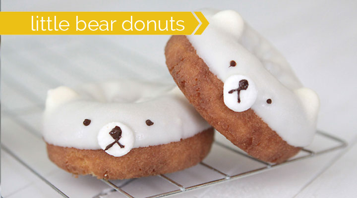 sweet little bear donuts and a $200 back to school giveaway!