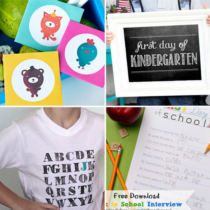 20 fantastic first day of school ideas {photos, food, gifts & more!}