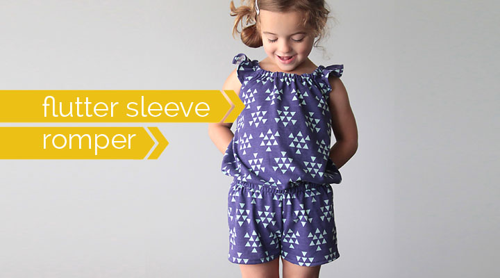 pdf pattern square sleeve top tee girls