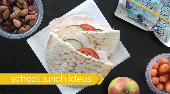 HUNDREDS of ideas to make planning & packing school lunch easier!