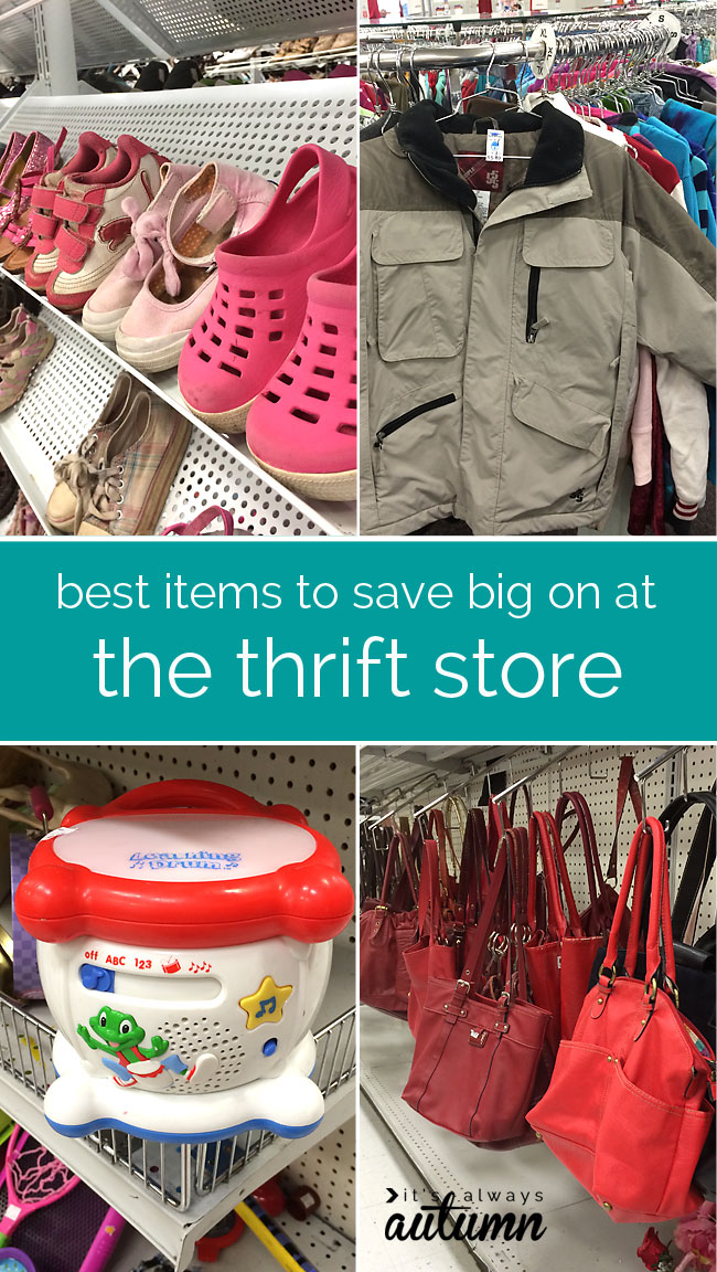 3a2da96e25 how to get great deals at the thrift store - what to buy to save money