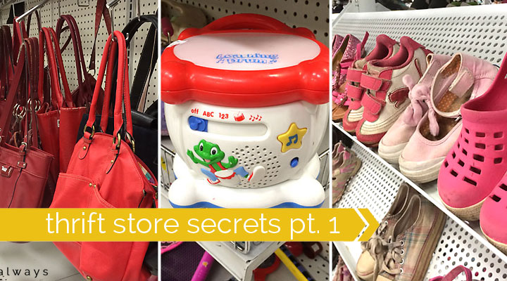 how to save money at the thrift store pt. 1: what to buy