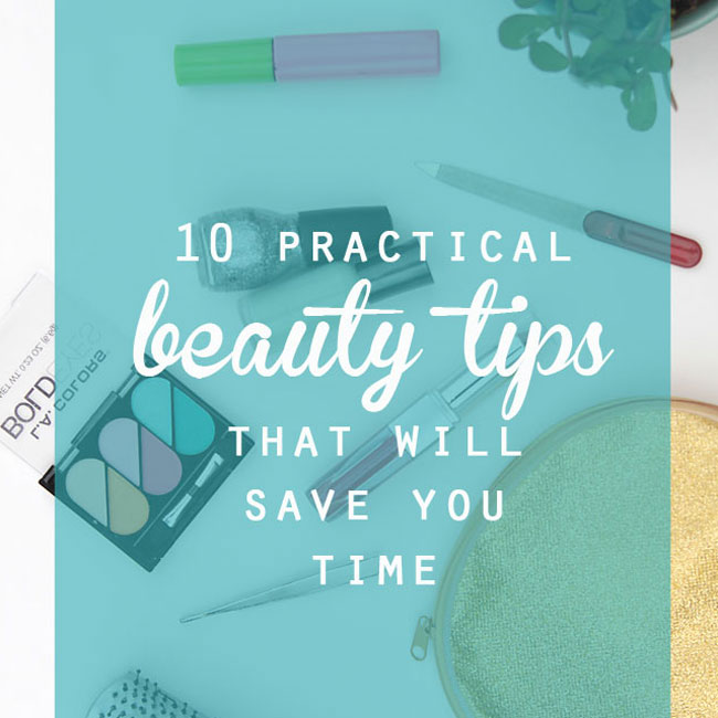 practical beauty tips that will save you time + $100 Target gift card!
