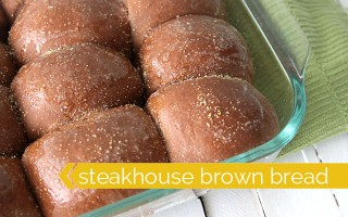 sweet honey molasses brown bread recipe - just like outback steakhouse!