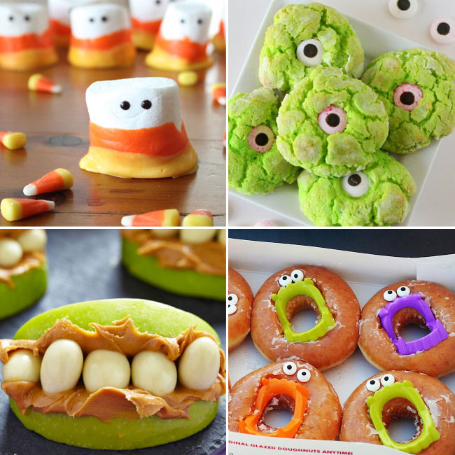 Here are 10 Amazing and Fun Easy Halloween Desserts for you that you can make with kids. These googly eyes Halloween desserts surely love the kiddo and a better way to serve your Halloween guests with these cute monster desserts.